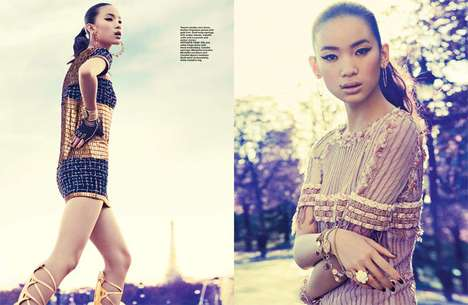 Gilded Cleopatra Fashion