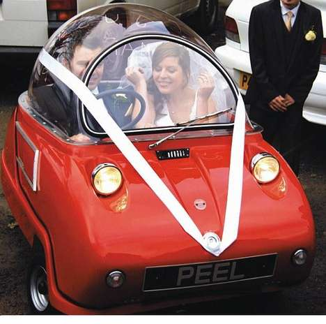 Itty-Bitty Wedding Cars
