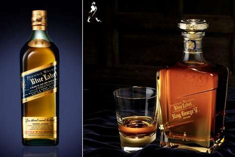 Personalized Scotch Whiskey - The Engravable Johnnie Walker Bottle is Customized Booze With Cachet