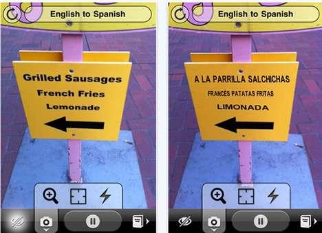 Visual Text Translators
