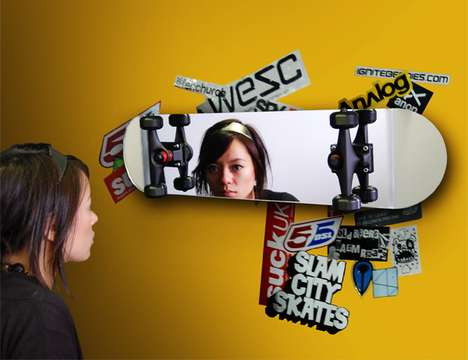 Mirrored Skateboard Decks