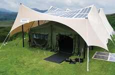 Solar-Powered Tents - The TEMPER Fly Ensures the US Army is Always Technologically Connected