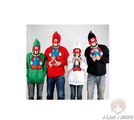 Geeky Gamer Jackets - Super Mario Hoodies Turn You into a Gaming Hero