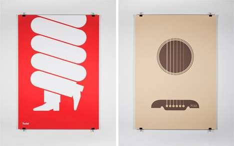 Minimalist Music Posters