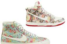 Flower Power Shoes - Nike Sportswear Liberty Collection in a Blooming Look