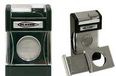 2-in-1 Fire Starters - The Blazer Optimus Cigar Torch Lighter and Guillotine Cutter