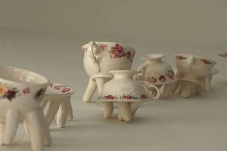 Trippy Tea Sets