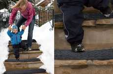 Snow-Melting Walkways - The 'HeatTrak' Heat Mats Create Safe Paths for the Home