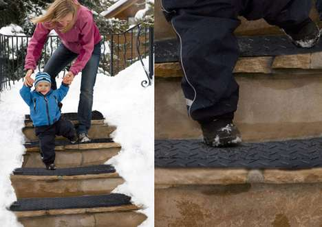 Snow-Melting Walkways