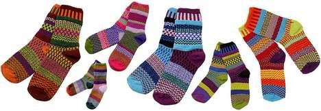 Merry Mismatch Socks
