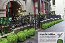 Revamped Rubbishvertising - Printed Garbage Bags 'Beautify Your City'