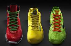 Basketballin' Holiday Kicks - Nike Basketball Christmas Shoes are Festive and Fun