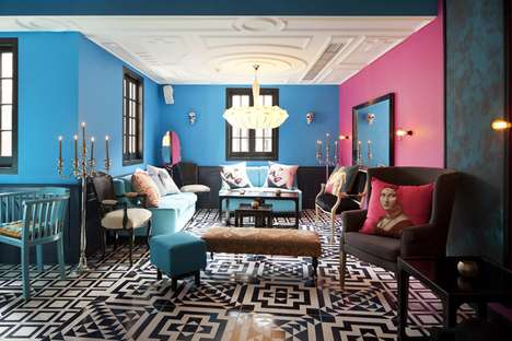 Surrealist Bar Rooms