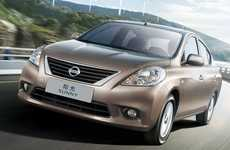 Family Eco Vehicles - The Nissan 'Sunny' Will Hit Showrooms Early 2011