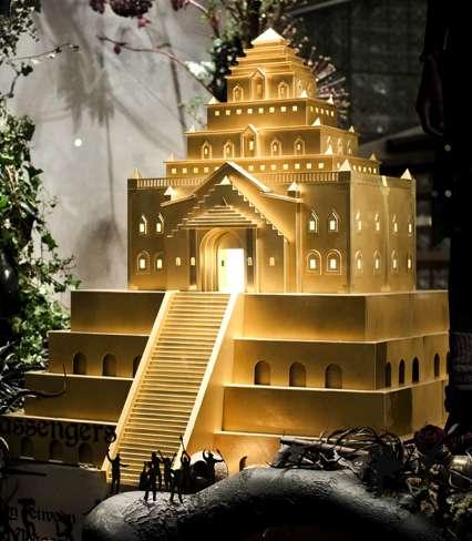 Fantasy Temple Retail Windows