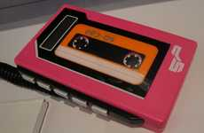Funky Retro Music Players