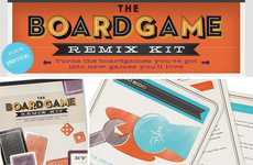 Classic Game Alternatives - The Boardgame Remix Kit Gives Playtime a Facelift