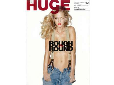 Peek-A-Boo Overalls - This Erin Heatherton Terry Richardson Spread is Sizzling Hot