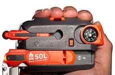 Compact Multiuse Survival Gear - Sol Survival Kit Prepares You for the Worst