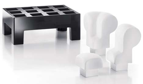 Puzzle Piece Seating - The Moredesign Modi Series Will Make Renovations a Game of Tetris