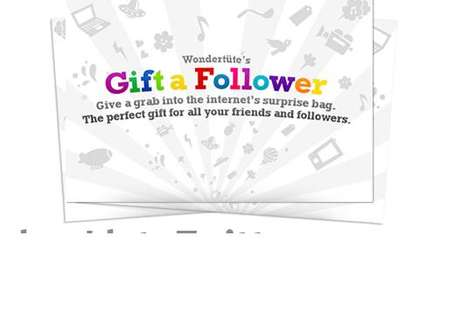 Virtual Twitter Gifts - Gift a Follower to Your Most Loyal Tweep and Say Thank You