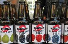 Natural Soda Pops - Bevnet Names Hotlips Sodas 'Best New Carbonated Beverage'