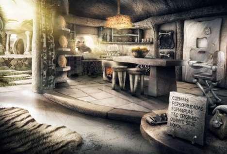 Cartoon-Inspired Kitchens