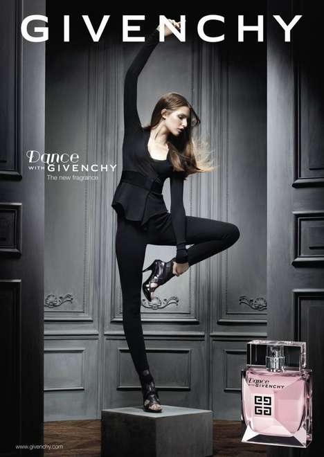 Feminine Shimmer Fragrances - Introducing the Very Delicate Givenchy Dance Perfume