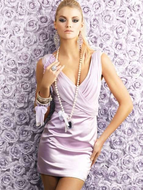 Pastel Glamour Shoots - Alex Perry Diva High Summer Collection 2011 is Simple and Delicate