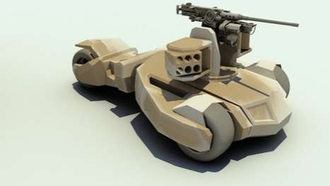 Comic-Inspired Armored Vehicles - The Raider by Bae Systems is Modeled After the Batmobile
