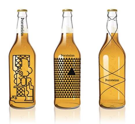 Art Deco Alcohol Bottles