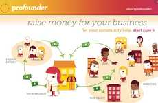 Online Startup Microfinancing - ProFounder Leverages Family and Friends for Seed Money