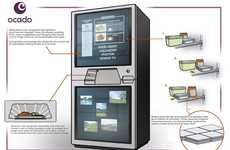 Self-Cleaning Coolers - The Hi-Tech Futuristic Fridge Tells What to Cook and Store