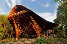 Sea Creature Architecture - The Soneva Kiri Resort Den is Inspired by the Manta Ray
