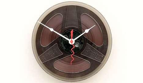 Film Reel Timepieces
