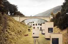 Magnificent Mobile Hotels - 'A Rolling Master Plan' Uses Train Tracks to Travel Through Country