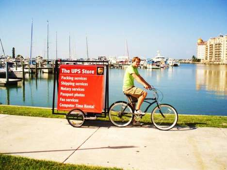 Bicycle-Driven Billboards