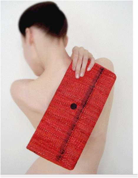 Sheila Odessey Makes Eco Handbags from Recycled Plastic Bags