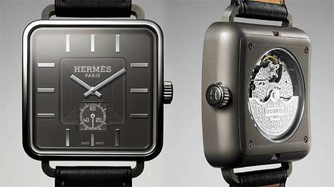 Square-Faced Timepieces
