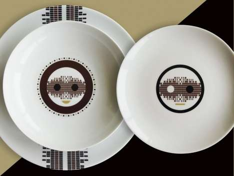 Emoticon-Inspired Tableware