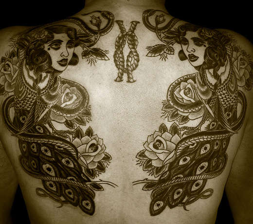 Badass Back Tatts