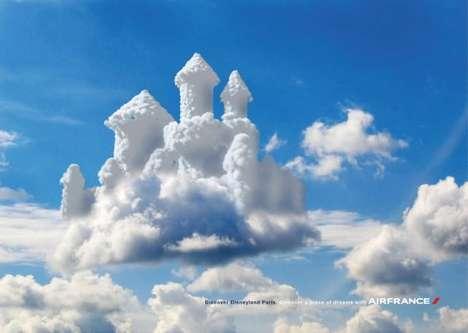 Cloudy Castle Ads