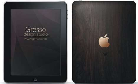 Wooden iPads - The African Blackwood iPad Gresso Screams Classy & Sophisticated
