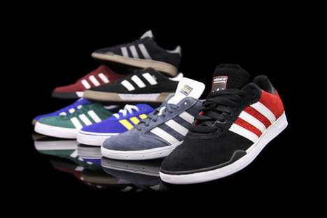 The Adidas Skateboarding Spring 2011 Collection is Hip and Happening