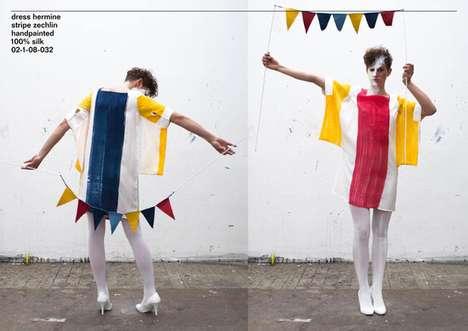 Colorful Avant-Garde Beachwear