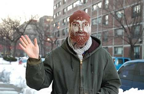 Ski Mask Self-Portraits