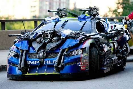 Wicked Transforming Vehicles - Images of Transformers 3 Autobots Have Surfaced the Net