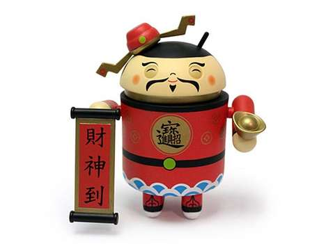 Happy-Go-Lucky Toys - The Chinese New Year Google Android Can Bring You Fortune