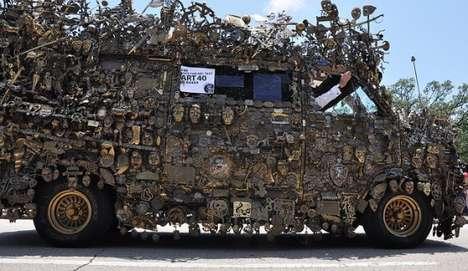 Metallic-Armored Autos