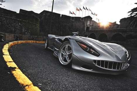 Intimidating Luxury Autos